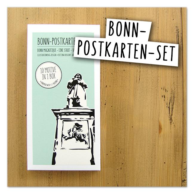 Bonn-Postkarten Set